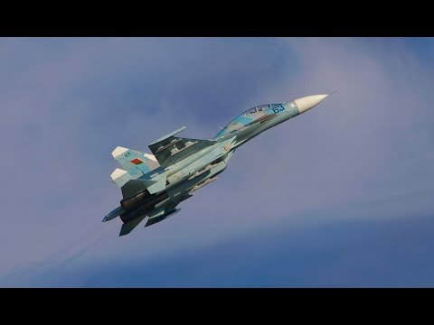 Su-27 Belarusian Air Force - Crash - Air Show Radom 2009