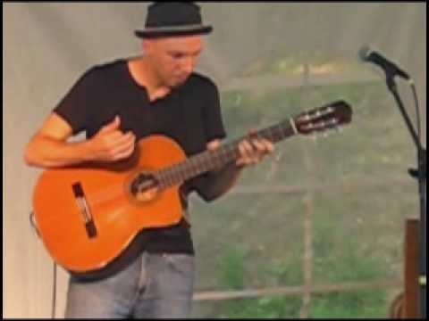 Flamenco Rock Reggae - Daryl Shawn live at Musikfest 2010