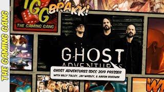 Ghost Adventures 2019 San Diego Comic-Con Press Panel [Full Length]