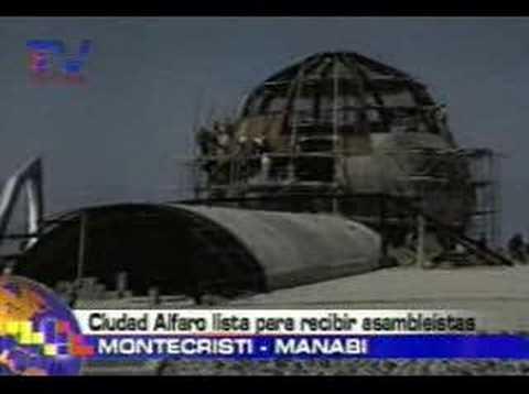 Ciudad Alfaro lista para recibir asambleistas