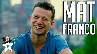 BEST Magician Winner Mat Franco on America's Got Talent 2014 | Magicians Got Talent