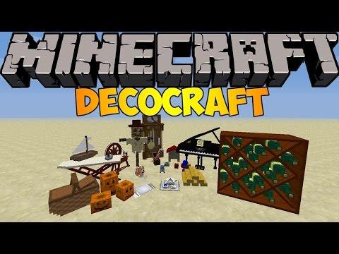 Como descargar e Instalar DECOCRAFT para Minecraft 1.7.10