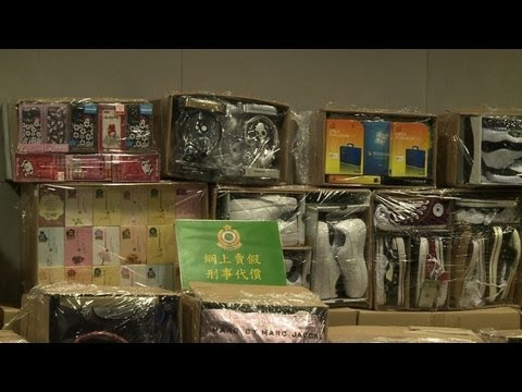 Hong Kong Customs seizes 2,282 counterfeit goods