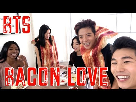 BACON LOVE (FAKE LOVE) BTS ft. Amber, EmilyGhoul, kiirstinleigh, Denetrabfit