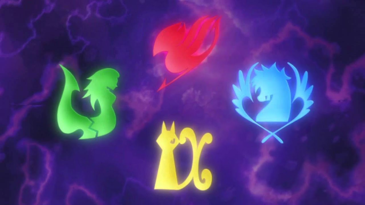 Fairy Tail Guild Logo Blue Fairy Tail Guild Darkness