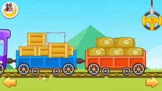Bé học phương tiện giao thông, Xe lửa, Xe cứu Hỏa, Xe cứu thương, Xe bus, nhạc thiếu nhi, SuSu TV