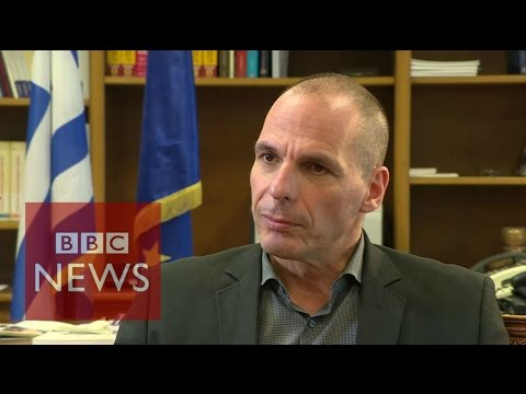 Greece debt crisis: '100% chance of success' says Varoufakis - BBC News