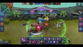 ALICE MOBILE LEGENDS DAMAGE BUILD AUTO MVP