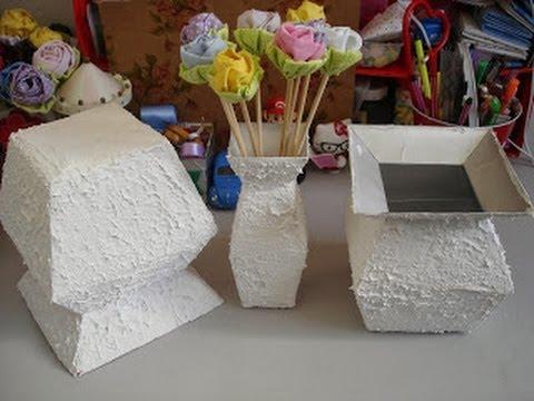 Como fazer bolsa de caixa de leite passo a passo video