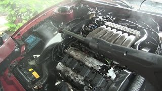 Trying To Clean The Worst 3000GT VR4 In The World