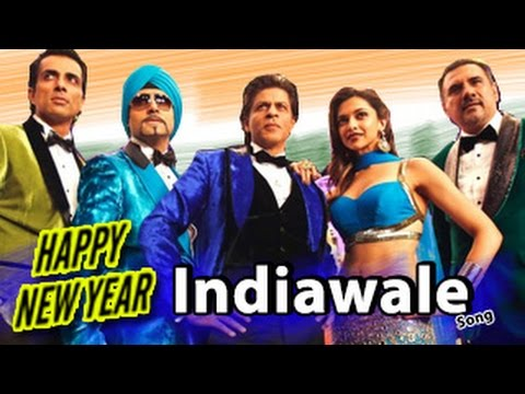 IndiaWaale Happy New Year Video Song RELEASES   Shahrukh Khan...