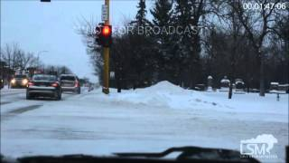 1-14-16 Grand Forks, ND Snowfall