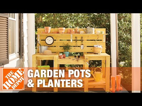 Pots For Container Gardening The Home Depot Youtube
