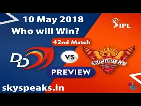 Vivo ipl 2018 DD vs a SRH Match full match Highlights ...! IPL_2018