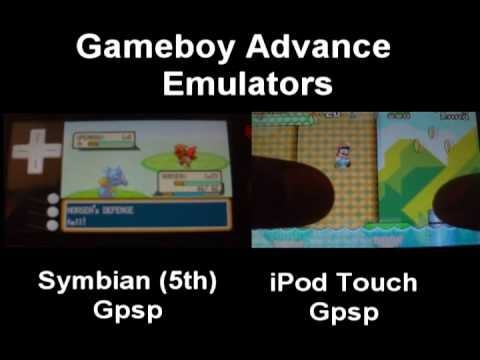 GPSP Gameboy Advance Emulators Symbian & iPhone