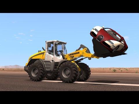 BeamNG DRIVE Random Vehicles Crash Testing Part3