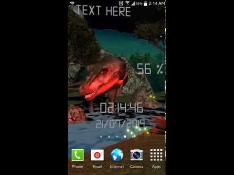 T-Rex King Live Wallpaper for Android