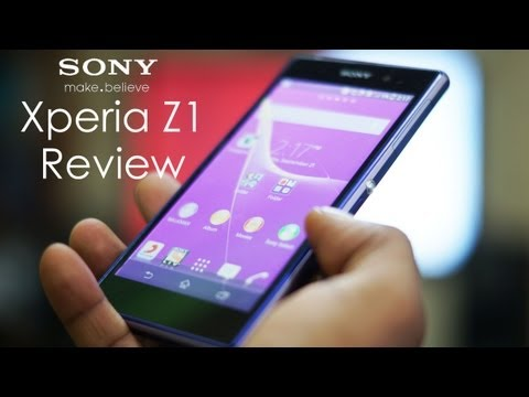 Sony Xperia Z1/Z1S Review