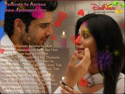 Nazroon sa Nazrrain Milli hain ,, Kurbaan Movie Song, by www.desinagar.com
