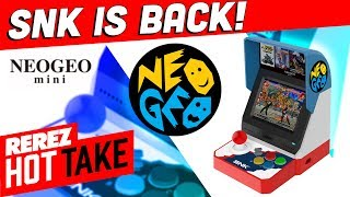 Neo Geo Mini Looks Awesome! - Hot Take Game News