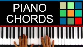 Play Piano: Major And Minor Chords