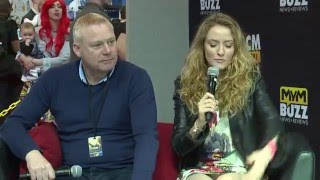 Thomas Craig & Helene Joy (Murdoch Mysteries) Interview Birmingham