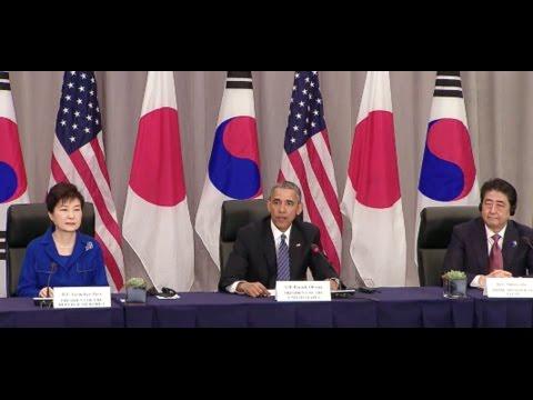 Remarks by President Obama, President Park Geun-Hye, and Prime Minister Shinzo Abe