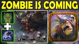 Zombie In Fountain Enemies [Rearm+Tombstone = WTF!!!] Ability Draft Dota 2