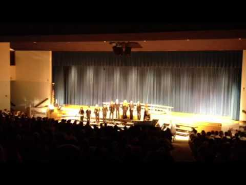 Hilton High School: Kharma sings Boogie Woogie Bugle Boy