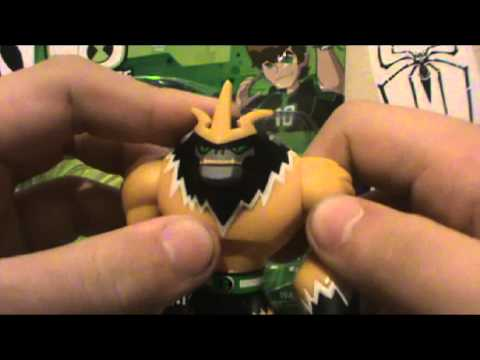 Review do Boneco Shocksquatch-Ben10 Omniverse