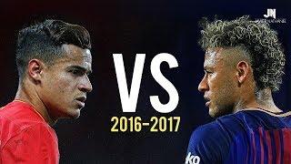 Coutinho vs Neymar Jr