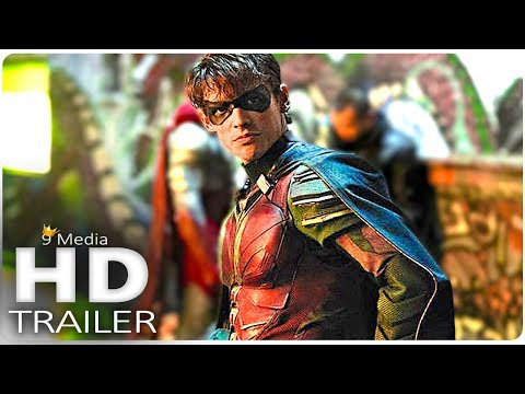 "TITANS ""Robin Meets Batman's Replacement"" Trailer (2018) New Superhero Sci-Fi Series HD"