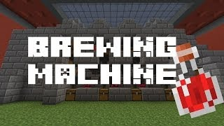 Minecraft Brewing Machine - Tutorial