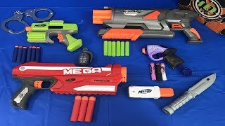 Box of Toys Toy Blasters Nerf Guns Toy Weapons Toy Pistols