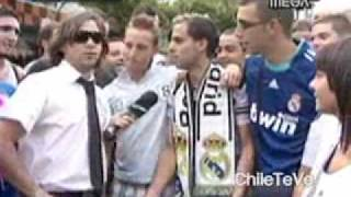 CQC Chile con el Real Madrid 30/08/09