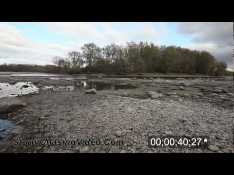 2012 Mississippi River Drought Footage