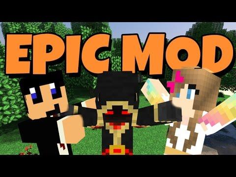 Minecraft - EPIC MOD!! DAVID DOET REVE?!