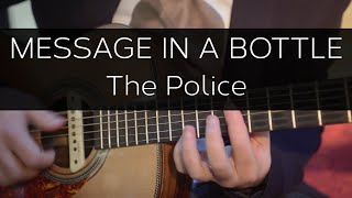 Message in a bottle (The Police) - Acoustic Guitar Solo Cover (Violão Fingerstyle)
