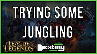 League of Legends - Trying out some jungling