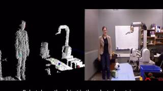 Visual Pointing Gestures for Bi-directional HRI in a Pick-and-Place Task