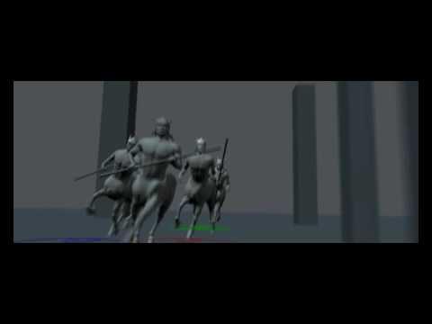 Victor Abramovskiy animation reel 2008