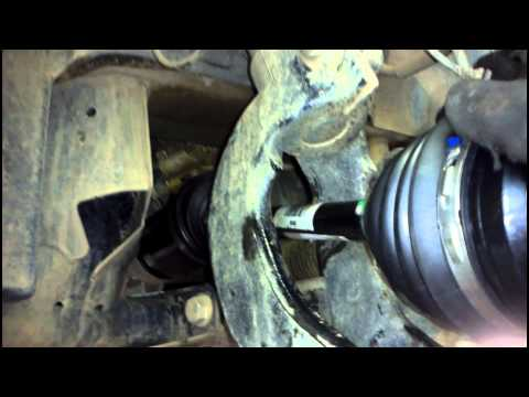 BMW CV Shaft X5 E70 Removal & Replacement How to DIY: BMTroubleU