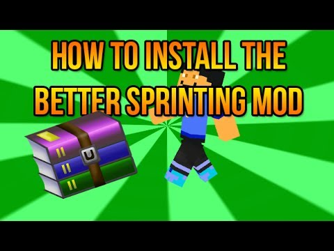 How To Install Better Sprinting Mod For Minecraft 1.7.2 - Easy and Simple