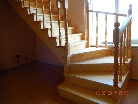 Лестница - изготовление в деталях ( сборка + обзор)