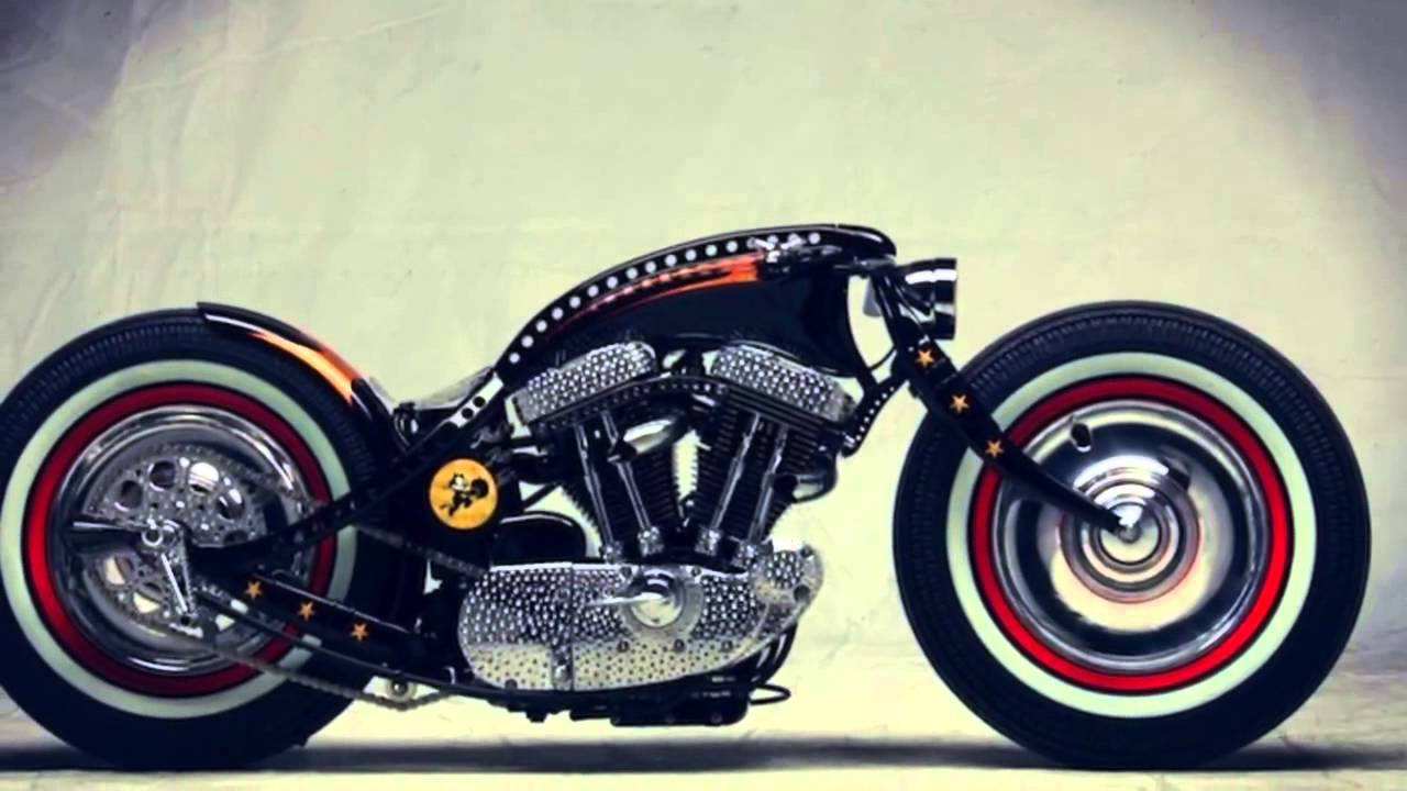 harley davidson sportster custom by art of racer youtube. Black Bedroom Furniture Sets. Home Design Ideas