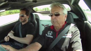 Rick Mears and Jimmie Johnson Laps of Indy
