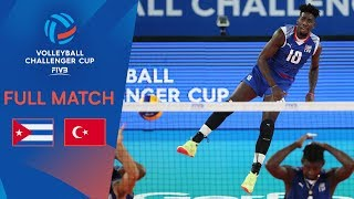 Cuba vs Turkey | Full Match | 2019 FIVB Men's Volleyball Challenger Cup