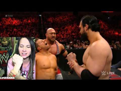 Wwe Raw 3 16 15 Ryback Vs Miz video