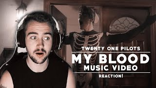Twenty One Pilots | My Blood Music Video Reaction!