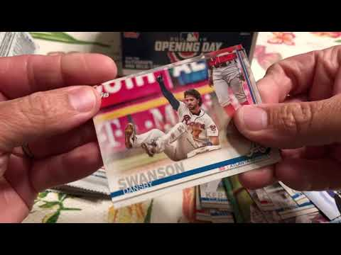 2019 Topps Opening Day Cards Opening